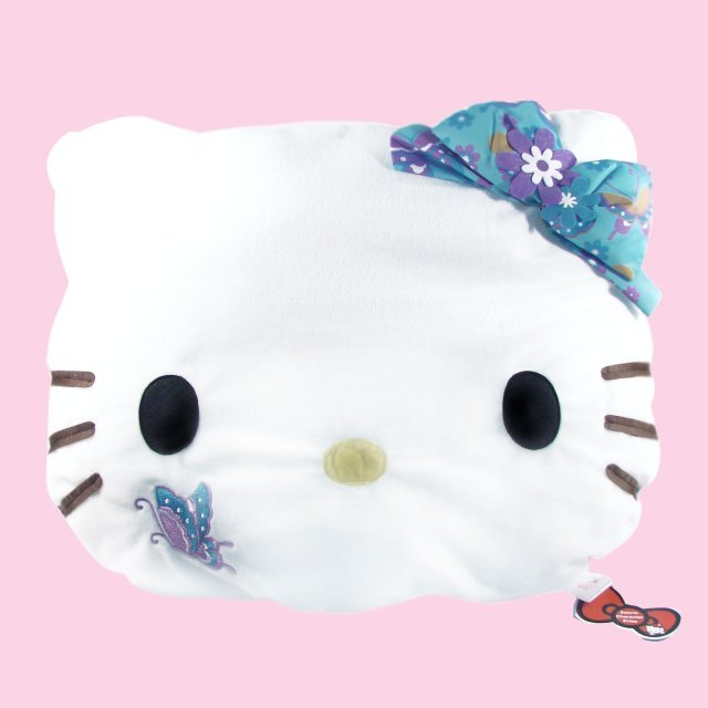 Hello Kitty Cushion: Kitty Blue Ver.