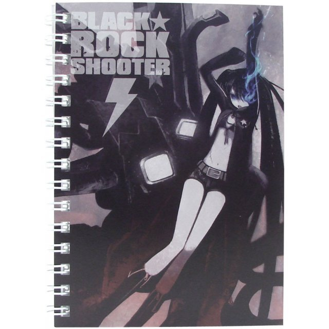 Black Rock Shooter Ring Notebook A