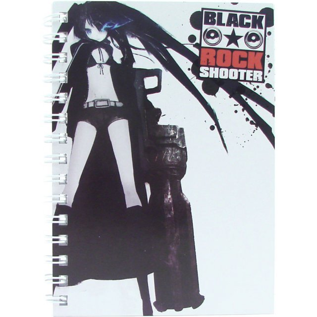 Black Rock Shooter Ring Notebook B