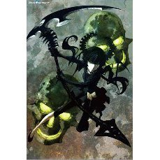 Jigsaw Puzzle Black Rock Shooter 1000 Pieces Puzzle: Dead Master