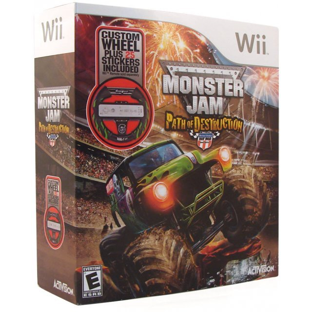 Monster Jam: Path of Destruction (w/ Wheel)