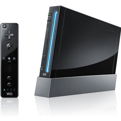 Nintendo Wii (for Japanese games only) (Black incl. Wii Sports Resort)
