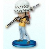 One Piece World Collectable Pre-Painted PVC Figure vol.5: TV034 - Trafalgar Law