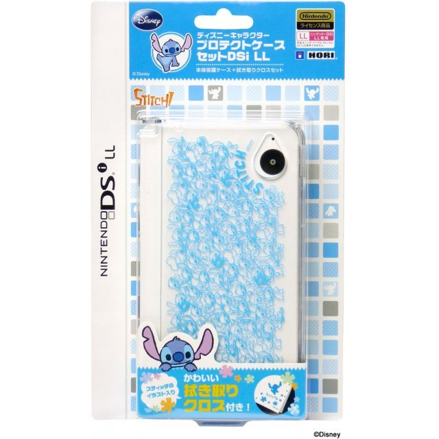 Disney Character Protection Case DSi LL/XL (Stitch)