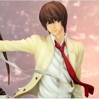 Death Note Non Scale Pre-Painted Cold Cast Resin Figure: Light Yagami