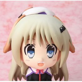 Littlebusters! EX 2.5 LL Non Scale  Pre-Painted PVC Figure: Kudryavka Noumi