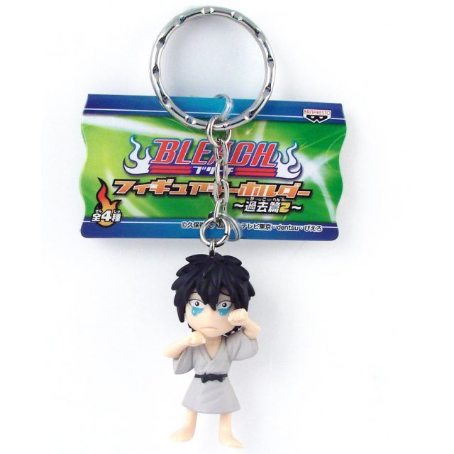 Banpresto Bleach Non Scale  Pre-Painted PVC Key Chain Figure: Hisagi Shuuhei (Kid Ver.)