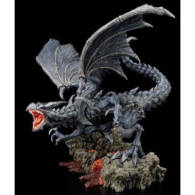 Yu-Gi-Oh! Duel Monsters Artwork Series Pre-Painted Polystone Statue: Red Eyes Black Dragon