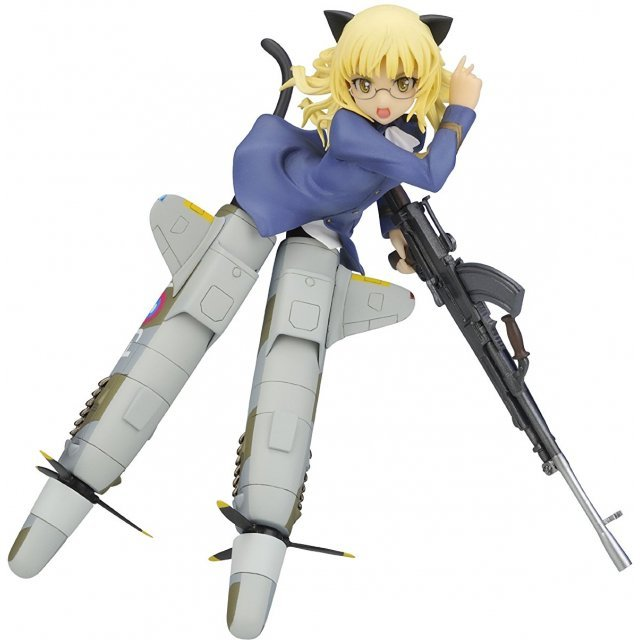 Strike Witches 1/8 Pre-Painted PVC Figure: Perrine-H. Clostermann