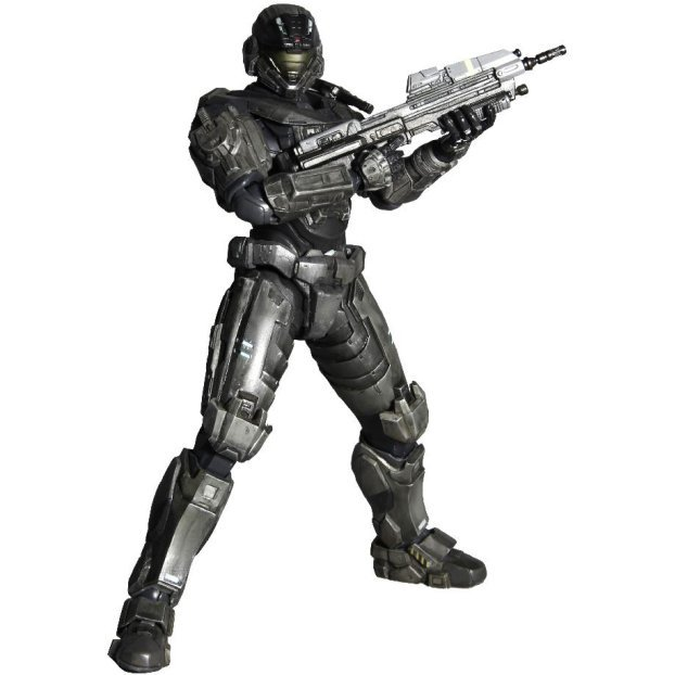 Halo Reach Play Arts Kai Vol. 1 Non Scale Pre-Painted PVC Figure: Noble Six