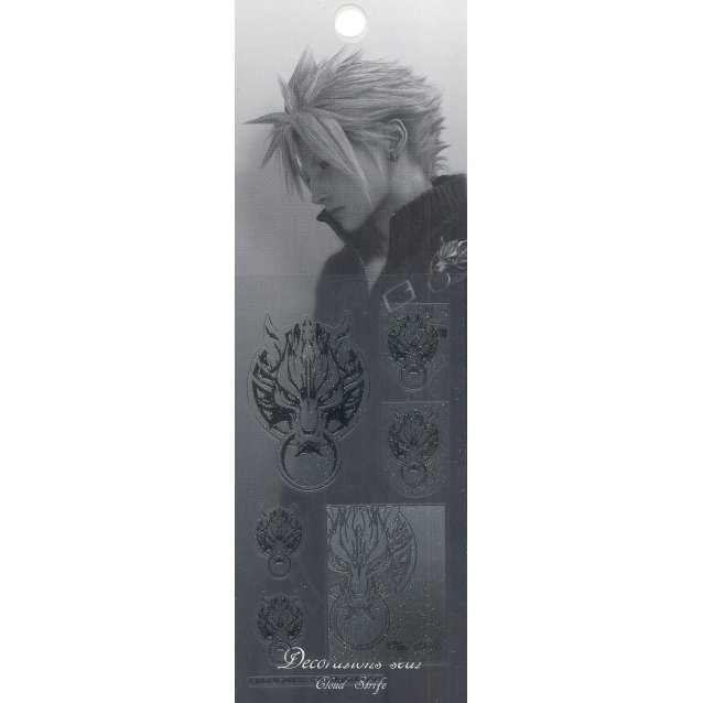 Final Fantasy VII Advent Children Decoration Sticker: Cloud