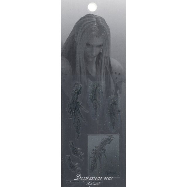 Final Fantasy VII Advent Children Decoration Sticker: Sephiroth