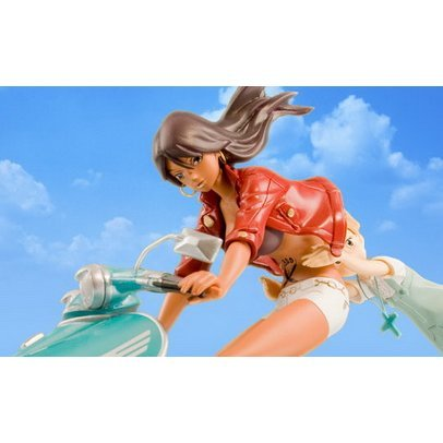 Michiko to Hatchin 1/12 Scale Pre-Painted Polystone Figure: Michiko to Hatchin (Jump Version)