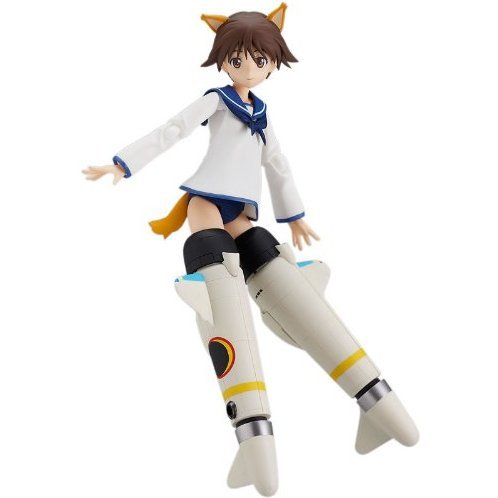 Strike Witches Non Scale Pre-Painted PVC Figure: figma Miyafuji Yoshika