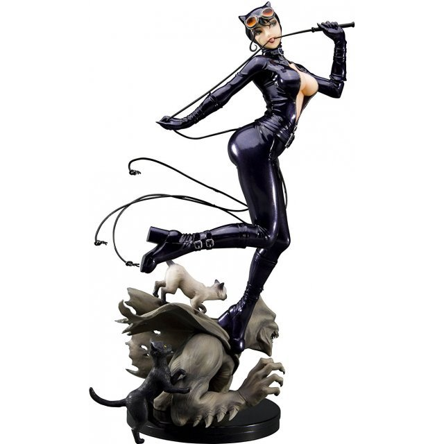 DC Bishoujo Collection 1/7 Scale Pre-Painted PVC Figure: Catwoman