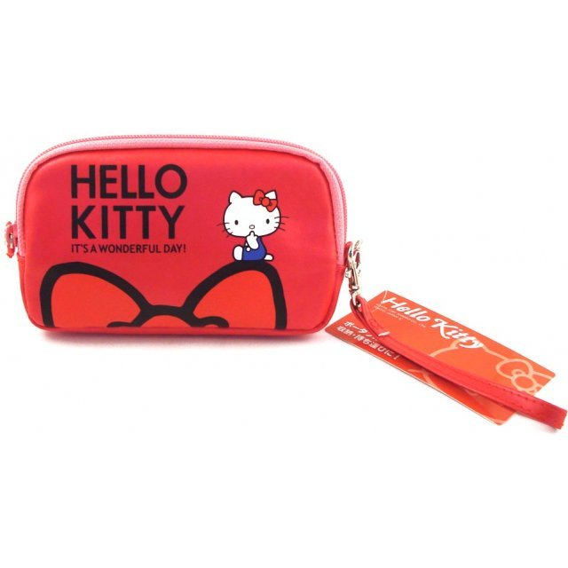 Hello Kitty Pouch (Red)