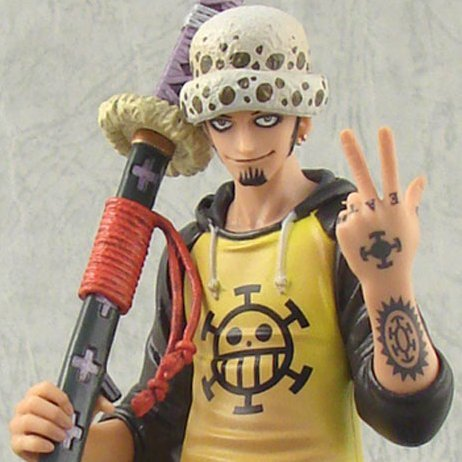 One Piece The Grandline Men Vol.5 Pre-Painted PVC Figure: Trafalgar Law