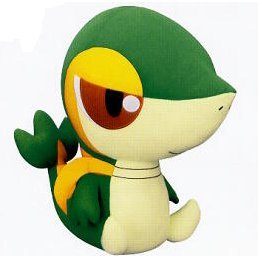Pokemon  Best Wishes  Plush Doll: Tsutarja (Large Ver.)