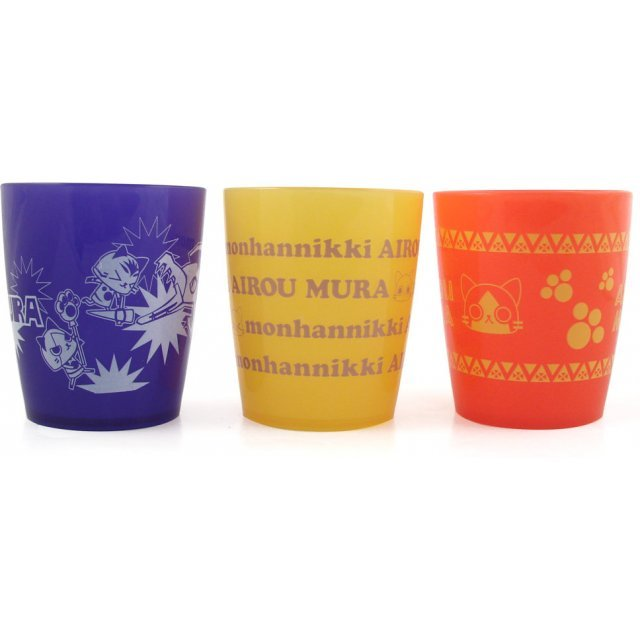 Monster Hunter Colorful Cups Set  Asst 3