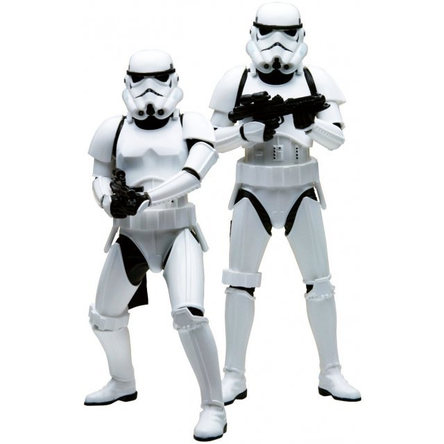 ARTFX+ Star Wars 1/10 Scale Pre-Painted Figures: Stormtrooper Build Pack
