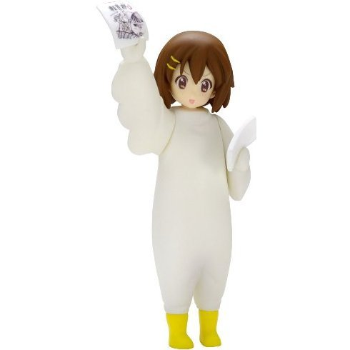 K-ON! Non Scale Pre-Painted Soft Vinyl PVC Figure: Kigurumi Hirasawa Yui