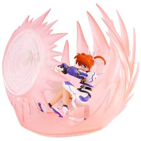 Magical Girl Lyrical Nanoha The Movie 1st 1/12 Scale Pre-Painted PVC Figure: Takamachi Nanoha Airstriker