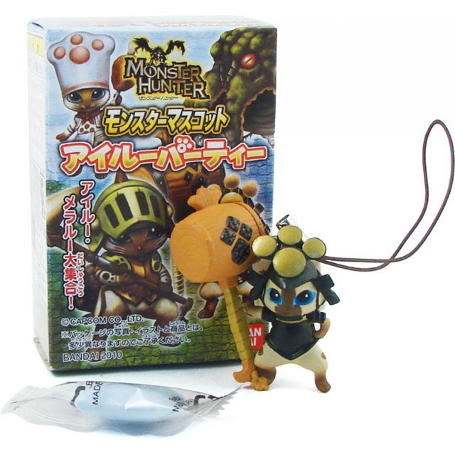 Monster Hunter Candy Toy: Monster Mascot Airou Party