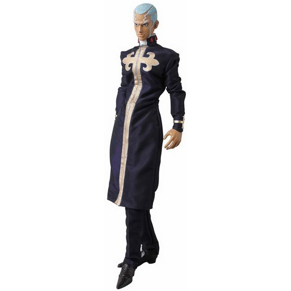 Real Action Heroes - JoJo`s Bizarre Adventure Pre-Painted Action Figure: Enrico Pucci