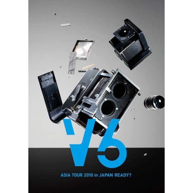 V6 Asia Tour 2010 In Japan Ready - Asia Ver. [Limited Edition Jacket B]