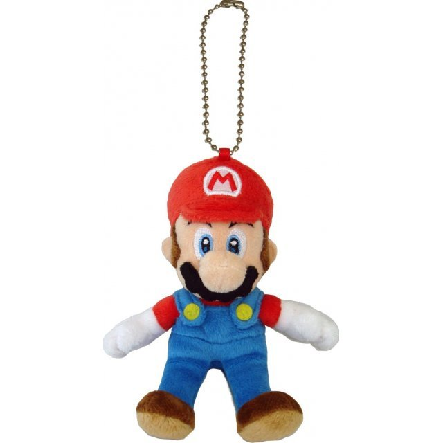 Super Mario Plush Series Plush Doll: Mario Mascot