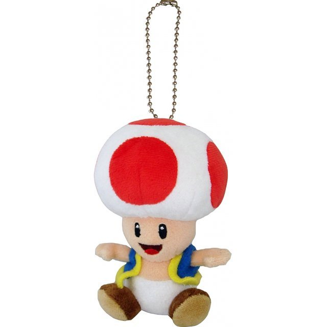 Super Mario Plush Series Plush Doll: Toad Mascot