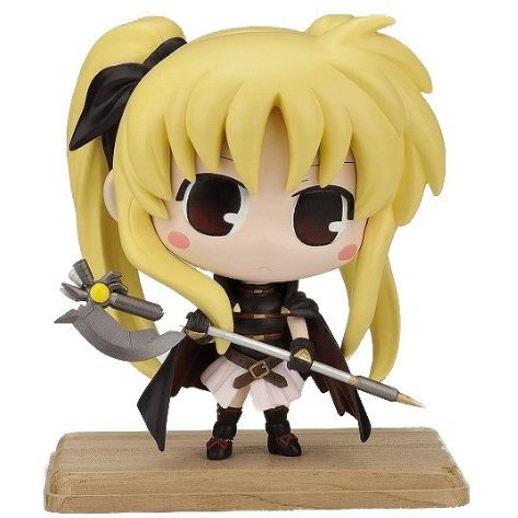 Magical Girl Lyrical Nanoha The Movie 1st Non Scale Pre-Painted  Soft Vinyl Figure: Fate Testarossa