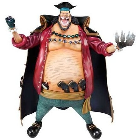 Portrait Of Pirates POP Excellent Model One Piece Series NEO-DX  1/8 Scale Pre-Painted PVC Figure: Blackbeard Marshall D. Teach
