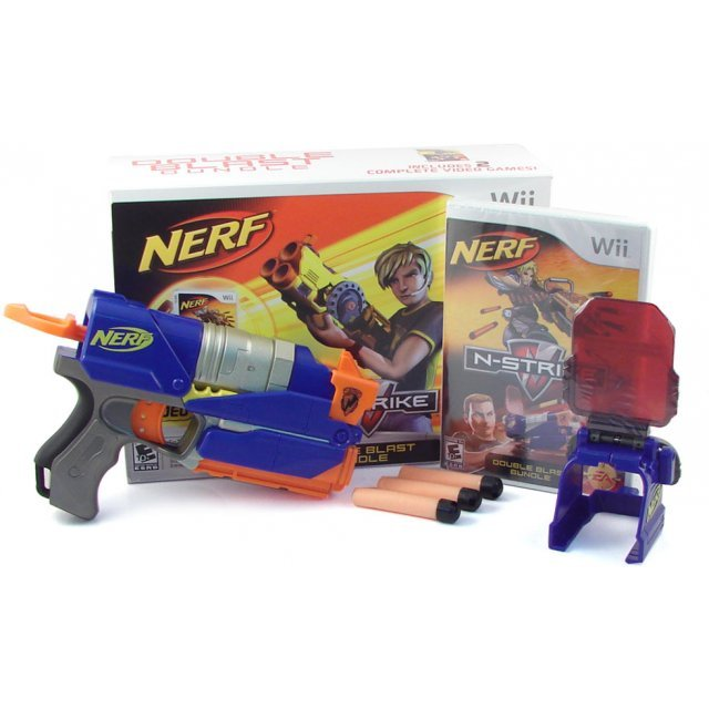 Nerf N-Strike Double Blast  (w/ Scope)