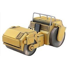 Super Figure JoJo's Bizarre Adventure Part 3 Non Scale Pre-Painted Figure: Paper Craft [Road Roller]  (Hirohiko Araki Specify Color)