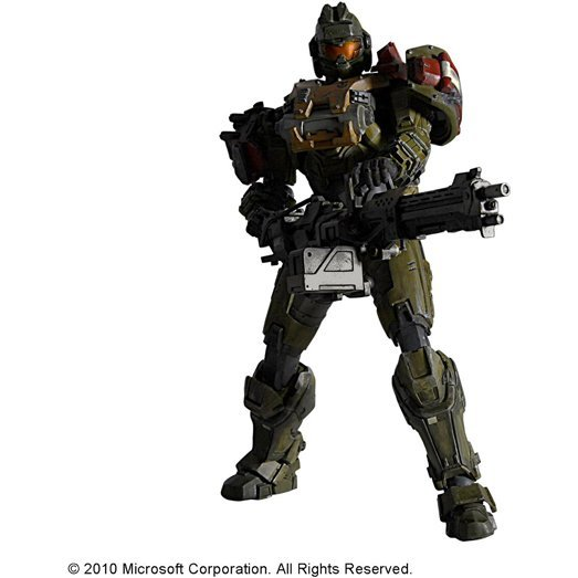 Halo Reach Play Arts Kai Vol.2 Non Scale Pre-Painted PVC Figure: Jorge