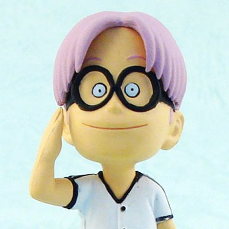 One Piece World Collectable Pre-Painted PVC Figure vol.7: TV050 -  Coby