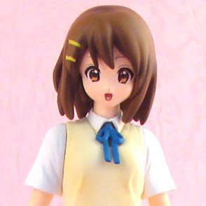 K-On! Pre-Painted Figure: Yui Hirasawa After School Tea Time Ver.