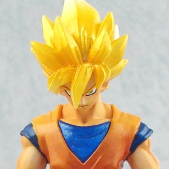 Legend of Saiyan Non Scale Pre-Painted PVC Collectable Figure: 01 Son Goku Super Saiyan Ver.