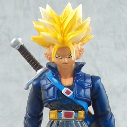 Legend of Saiyan Non Scale Pre-Painted PVC Collectable Figure: 03 Trunks Super Saiyan Ver.