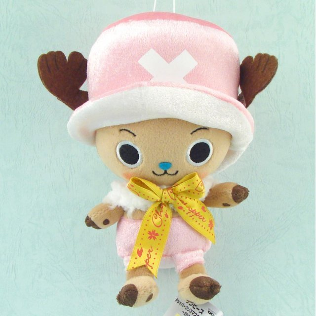 One Piece Chopper Christmas Plush Doll: Chopper Light Pink Ver.