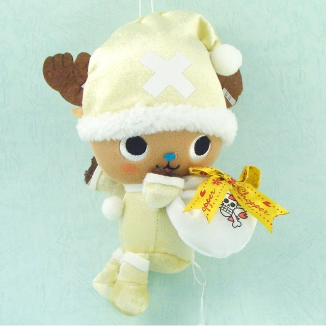 One Piece Chopper Christmas Plush Doll: Chopper Yellow Ver.