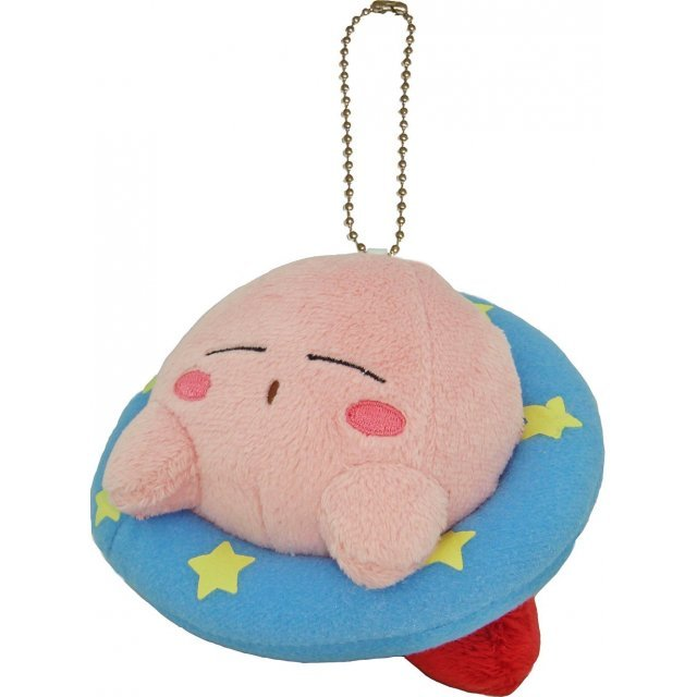 Sanei Kirby Star Mascot Key Chain: Sleeping Kirby