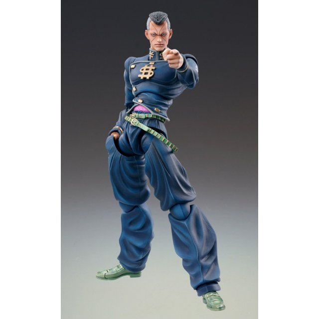 Super Figure JoJo's Bizarre Adventure Part 4  No.22 Non Scale Pre-Painted PVC Figure: Nijimura Okuyasu (Hirohiko Araki Specify Color)