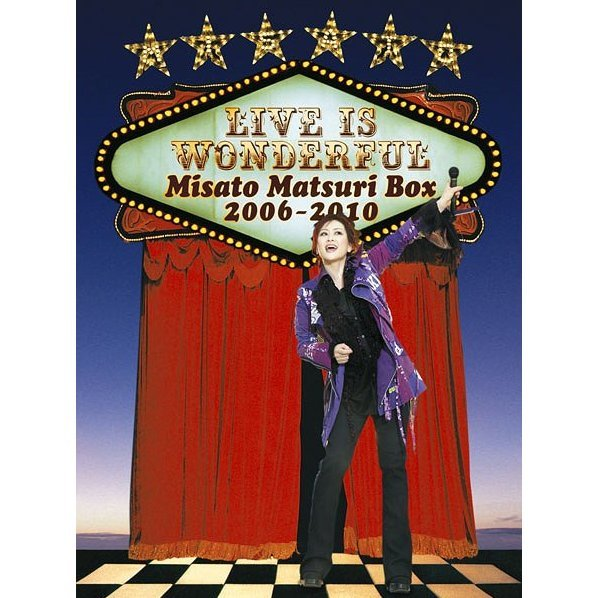 Live Is Wonderful - Misato Matsuri Box 2006-2010 [Limited Edition]