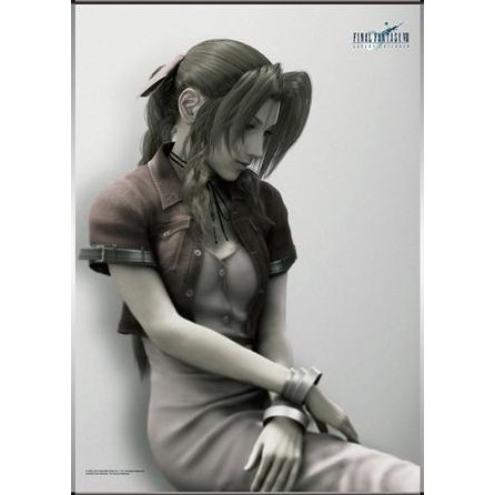 Final Fantasy VII AC  Wall Scroll Poster - Aerith