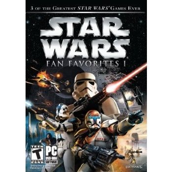Star Wars Fan Favorite I (SW Battlefront, SW Battlefront II, SW Republic Commando) (DVD-ROM)