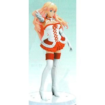 Macross Frontier Non Scale Pre-Painted DX Figure: Sheryl Christmas Costume Ver. Asst 2