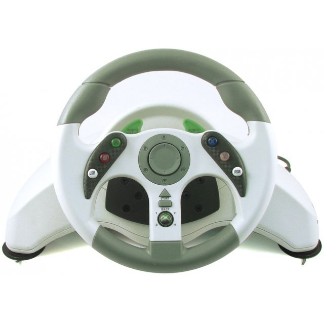 Xbox 360 MadCatz MC2 Racing Wheel with Vibration force & Pedals