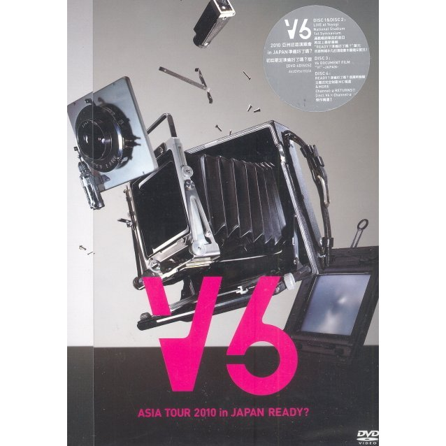 V6 Asia Tour 2010 in Japan Ready: Ready Version [First Press Limited Edition]